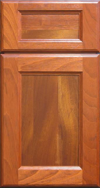 Brazilian Cherry Custom Cabinet Door Other Metro By Style Line Custom Hardwood Doors Wood
