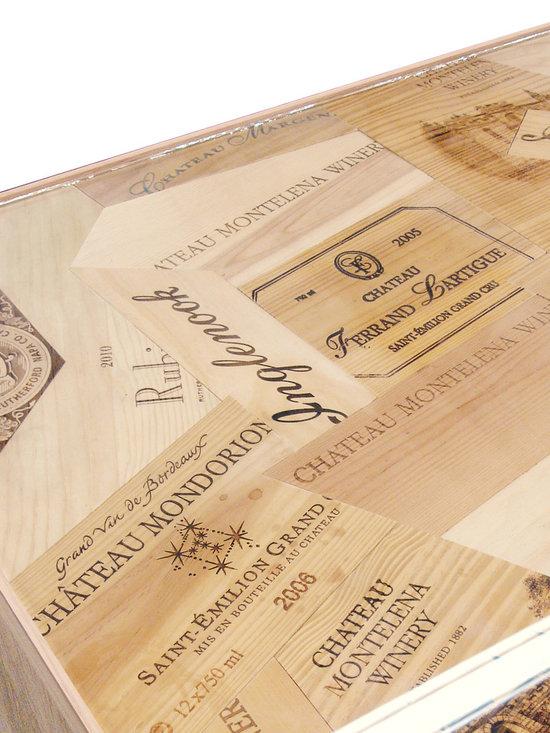 Custom Wine Box Wood Wine Credenza -