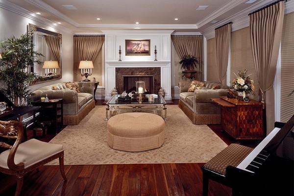 Interior Design by Carol Ehrke traditional-living-room