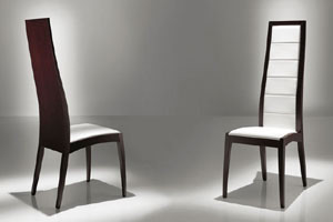 Alicia Tall Dining Chair By Doimo asian dining chairs and benches