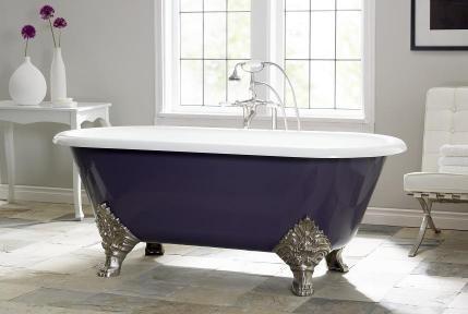 Carlton Cast Iron Bath modern-bathtubs