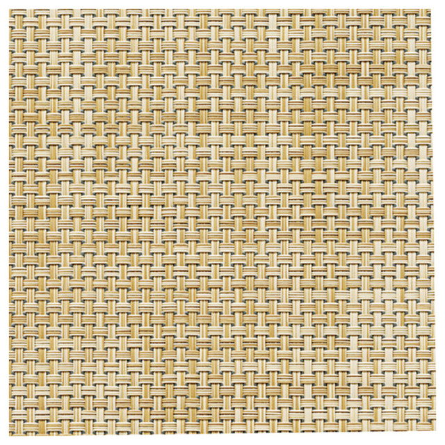 Chilewich Basket weave Floormats - 4' x 6', Caramel contemporary-rugs