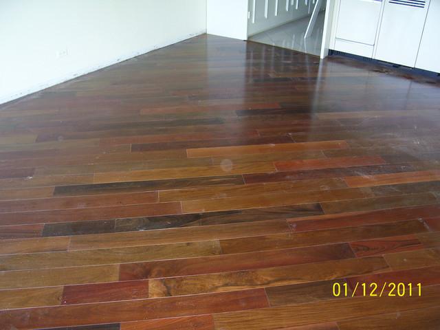 Terre Verte- Brazilian Ipe modern-hardwood-flooring