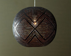 Perforated Globe Pendant chandeliers