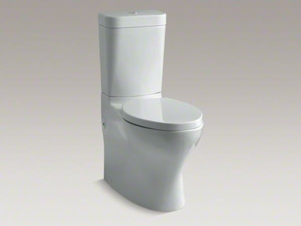 Kohler Persuade R Circ Comfort Height R Skirted Two Piece Elongated Dual Flush Contemporary