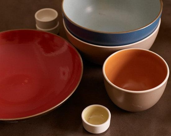 Heath Ceramics in different colours -