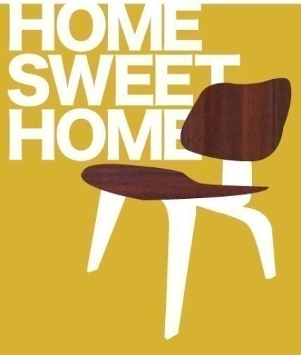 Home Sweet Home Print (item No. P-2008-14) Sm modern-artwork