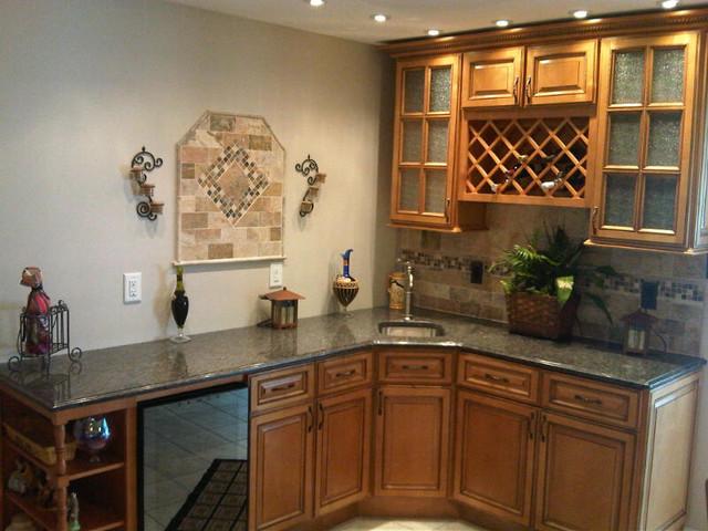 ... Kitchen Cabinets | Sandstone Rope Door | Kitchen Cabinet Kings kitchen