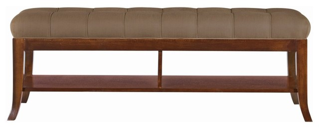 Hudson Street Bed End Bench - modern - benches - - by Hayneedle