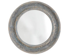 Round Seaside Mirror traditional-mirrors