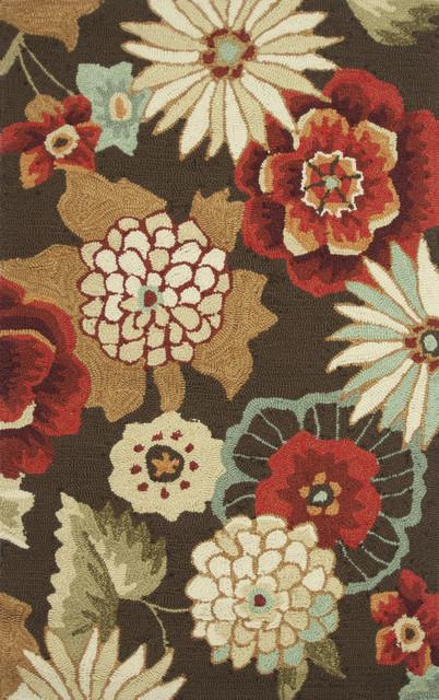 Summerton SSC16 3' Round Chestnut Rug contemporary-rugs