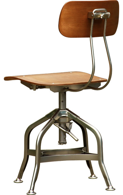Machinist Swivel Chair - Modern - Living Room Chairs - toronto - by Elite Living