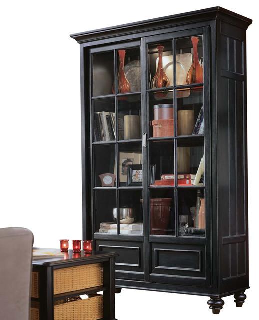 American Drew Camden-Dark Bookcase/China contemporary-bookcases