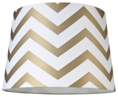 Chevron Lamp Shade contemporary lamp shades