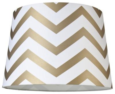 Chevron Lamp Shade contemporary-lamp-shades