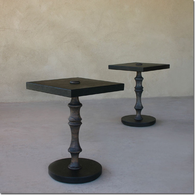 Modern Pedestal End Table - Contemporary - Side Tables And End Tables ...