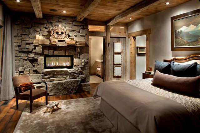 Slopeside traditional-bedroom