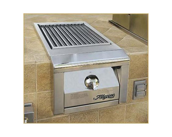 """Alfresco 14""""built-in Searzone Sideburners, Stainless Liquid Propane  