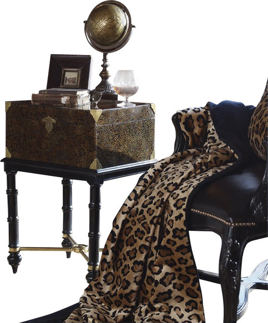 Henry Link Lord Kendal's Accent End Table in Tiger's Eye Finish transitional-side-tables-and-end-tables
