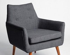 Modern Chair, Gray modern-accent-chairs