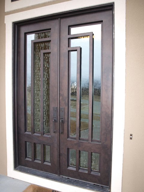 contemporary door contemporary windows and doors omaha by
