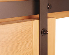 Classic Barn Door Hardware Kit traditional-interior-doors
