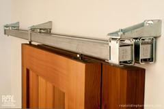 Box Rail Bypass Barn Door Hardware - Real Sliding Hardware
