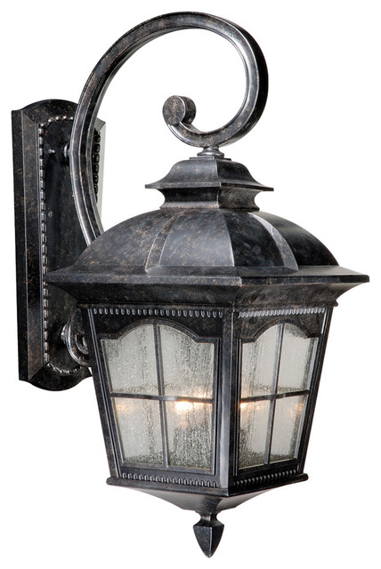 """Vaxcel AD-OWU110BP Arcadia 11"""" Outdoor Wall Light Burnished Patina transitional-outdoor-lighting"""