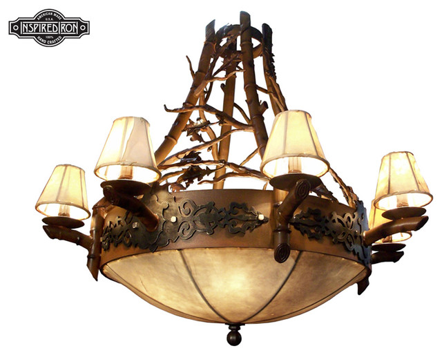 Bristlecone Chandelier contemporary-chandeliers
