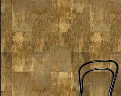 Minéraux: Bronze Age by French American Wallpaper contemporary wallpaper