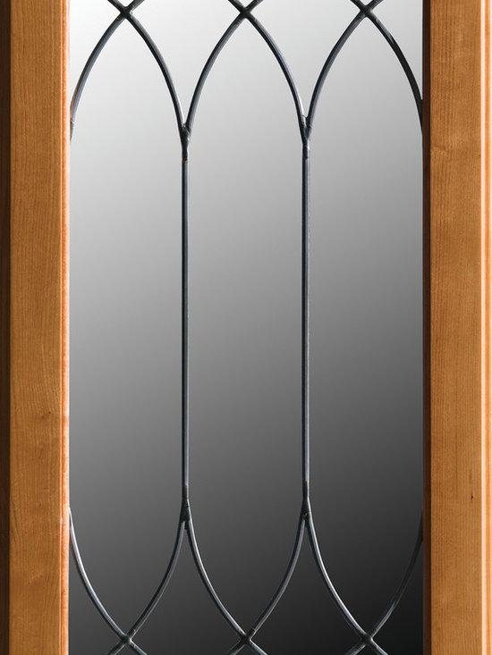 "Dura Supreme Cabinetry - Dura Supreme Cabinetry LG-51 Leaded Glass Cabinet Door. - Dura Supreme Cabinetry ""LG-51"" Leaded Glass Cabinet Door."