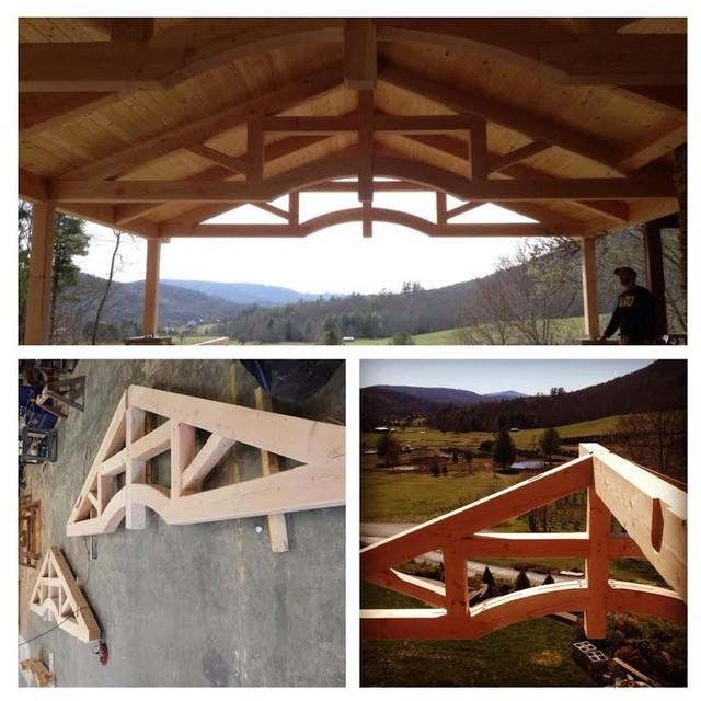 Timberwork in progress transitional