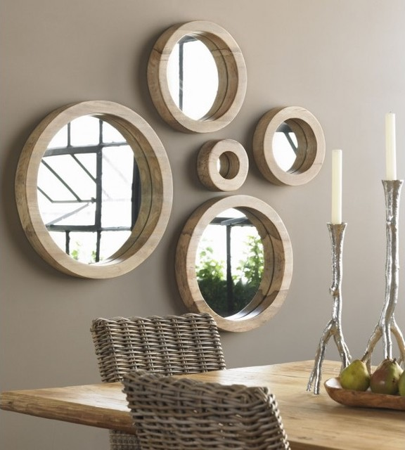 Porthole mirror collection by vivaterra tropical wall mirrors by vivaterra - Home decor wall mirrors collection ...
