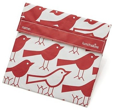 LunchSkins Birds Sandwich Bag contemporary-lunch-boxes-and-totes