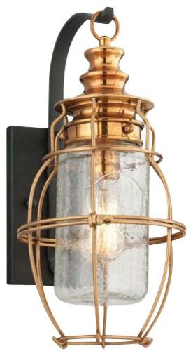 Little Harbor 1-Light Outdoor Wall Lantern - Medium traditional-outdoor-lighting