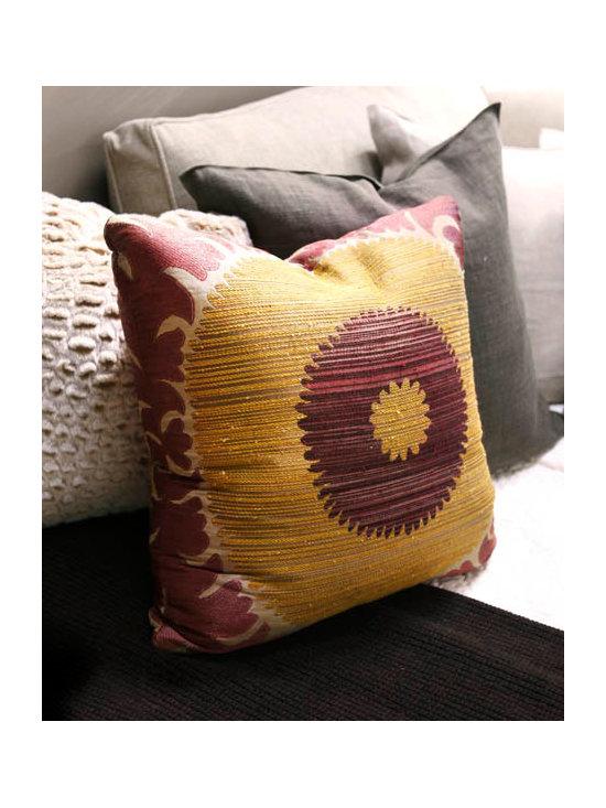 Donghia Fabric Pillows - Donghia Fabric Pillows - 3 Available