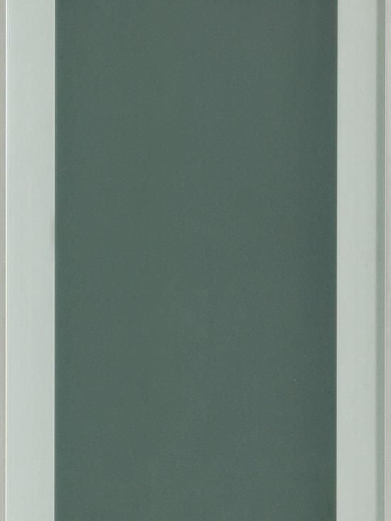 "Dura Supreme Cabinetry - Dura Supreme Cabinetry Aluminum Frame #2 Cabinet Door Style - Dura Supreme Cabinetry ""Aluminum Frame #2"" cabinet door style shown with a Satin Glass insert."