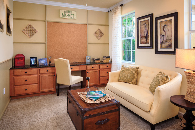 Flex spaces transitional-home-office