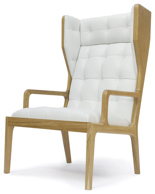 James UK Wingback Armchair contemporary-armchairs-and ...
