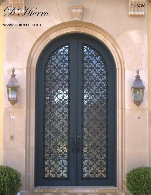 Iron Doors Exterior Mediterranean Exterior Other Metro By D 39 Hierro Hand Forged Iron
