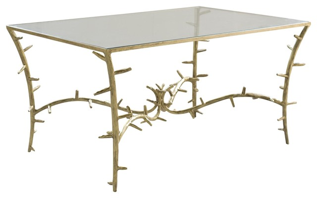 VanCollier Beebe Cocktail Table traditional-coffee-tables