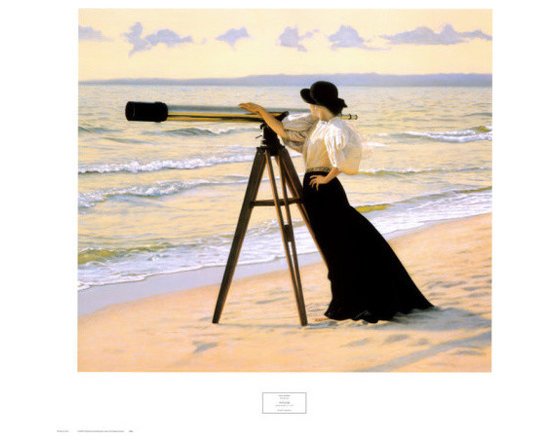 """""""Outlook"""" Print by Peter Quidley -"""