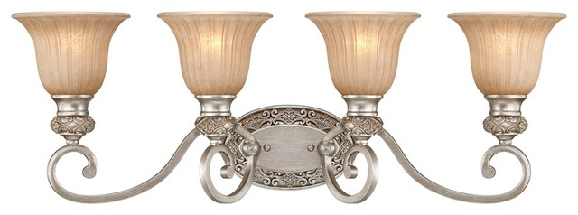 traditional kathy ireland sterling estate 32 wide silver