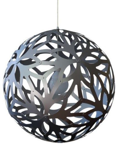 Floral Aluminum Pendant by David Trubridge Design modern-pendant-lighting