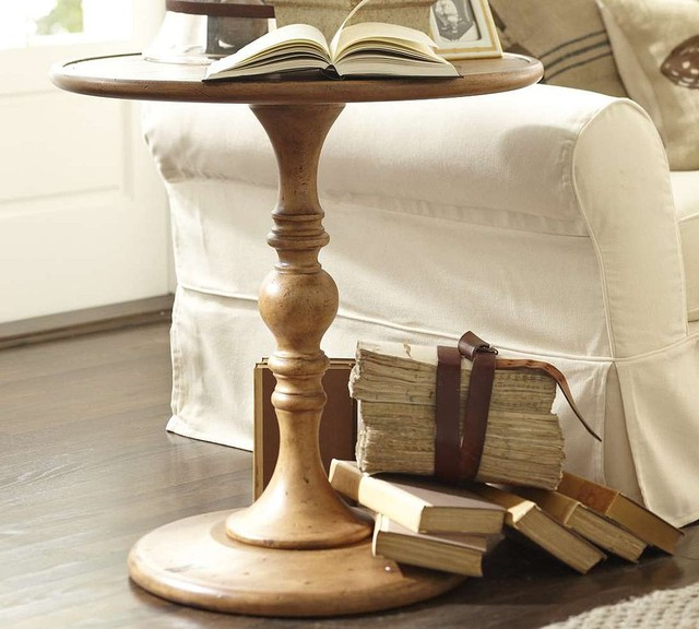 traditional side tables and accent tables by Pottery Barn