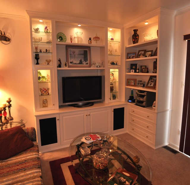 ... Traditional - Family Room - other metro - by Brave Custom Woodworking