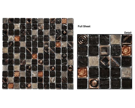 Mirage Opulence glass tile collection