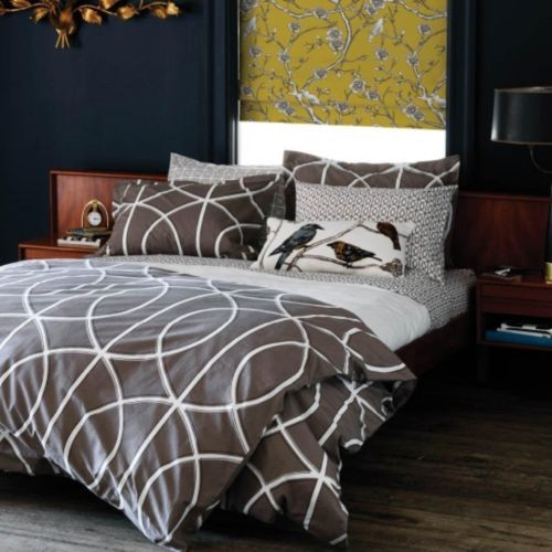 Gate Duvet Set Modern Bedding by Lumens