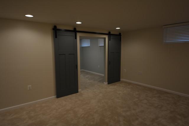 Basement remodeling, Columbia traditional-basement