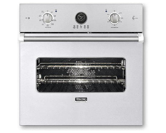 """Viking 27"""" Single Electric Wall Oven, White 